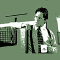 Office Space Bill Lumbergh Movie Quote Poster Series 002 by Design Turnpike