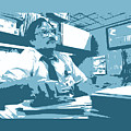 Office Space Milton Waddams Movie Quote Poster Series 003 by Design Turnpike
