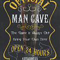 Official Man Cave by Debbie DeWitt