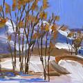 Ogden Valley Winter Ptg by David King