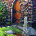 Ogham Stone by M Schaefer