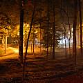Oglethorpe University In Fall by DeLa Hayes Coward