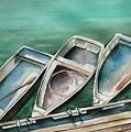 Ogunquit Maine Skiffs by Brenda Owen