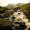Ogwen Falls by Harry Robertson