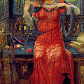 Oh Swallow Swallow by John Melhuish Strudwick