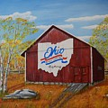 Ohio Bicentennial Barns 22 by Melvin Turner