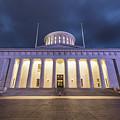 Ohio Capital At Night by John McGraw