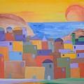 Oia Santorini by Michael Puya