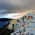 Oia Santorini Sunset by Adam Rainoff