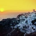 Oia Town , Santorini Island, Greece by Antonio Gravante