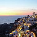 Oia Village In Santorini Island - Greece by Antonio Gravante