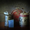 Oil And Kerosene Cans by David and Carol Kelly