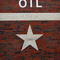 Oil And Texas Star Sign by Catherine Sherman