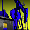 Oil Industry Well Pump by Dennis Thompson