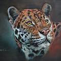Oil Painting Jaguar by Helen Elderkin