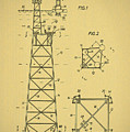 Oil Rig Patent by Bill Cannon