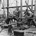 Oil Rig Workers, Called Roughnecks by Everett