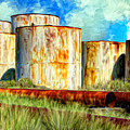Oil Tanks by Dominic Piperata