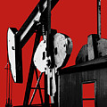 Oil Well Pump #4 by Dennis Thompson