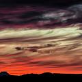 Ojo Caliente Sunset by Britt Runyon