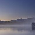 Okarito Lagoon Dawn by Peter Prue