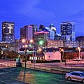 Okc Early Evening by Frozen in Time Fine Art Photography