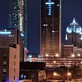 Okc Towers by Frozen in Time Fine Art Photography