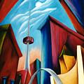 O'keeffe's Toronto by Lynn Soehner