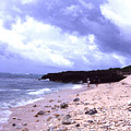 Okinawa Beach 15 by Curtis J Neeley Jr