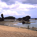 Okinawa Beach 18 by Curtis J Neeley Jr