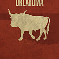 Oklahoma State Facts Minimalist Movie Poster Art by Design Turnpike