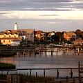 Okracoke Island Nc Sunrise by Robert Ponzoni