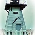 Olcott Lighthouse by Leslie Montgomery