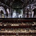 Old Abandoned Church Organ In Decay by Dirk Ercken