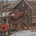 Old Abandoned Farm Homestead by Randy Steele