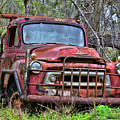 Old Abandoned International Truck by TN Fairey