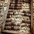 Old Accounting Wooden Abacus by Yuliya Pravdyuk