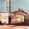 Old Acme Lambertville Nj by Robert Henne