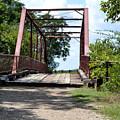 Old Alton Bridge In Denton County by Ruth  Housley
