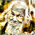 Old And Happy Man by Galeria Trompiz