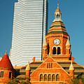 Old And New In Dallas by James Kirkikis