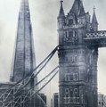 old and new London by Joana Kruse