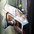 Old And Rusty by Arie Van der Wijst