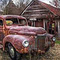 Old And Rusty by Debra and Dave Vanderlaan