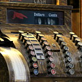 Old Antique Cash Register by Colleen Cornelius