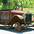 Old Antique Vehicle by Douglas Barnett
