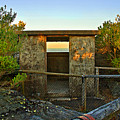 Old Army Lookout In Sunset Hour by Miroslava Jurcik