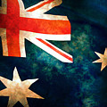 Old Australian Flag by Phill Petrovic