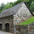 Old Austrian Barn by Valerie Ornstein