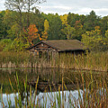 Old Bait Shop On Twin Lake_9626 by Michael Peychich